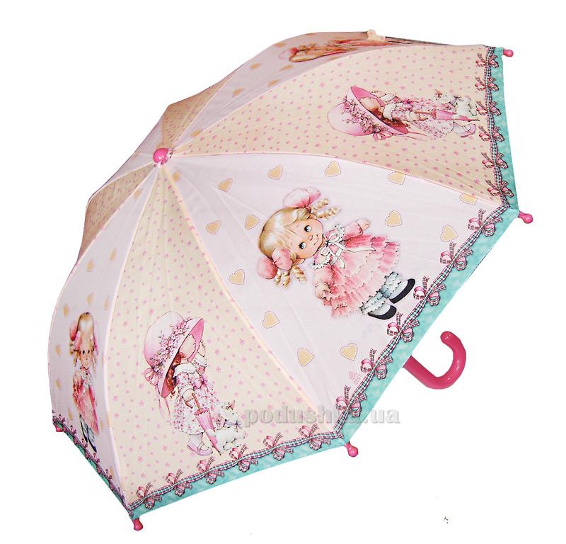 Детский зонтик-трость Девочки Zest 21561-3063