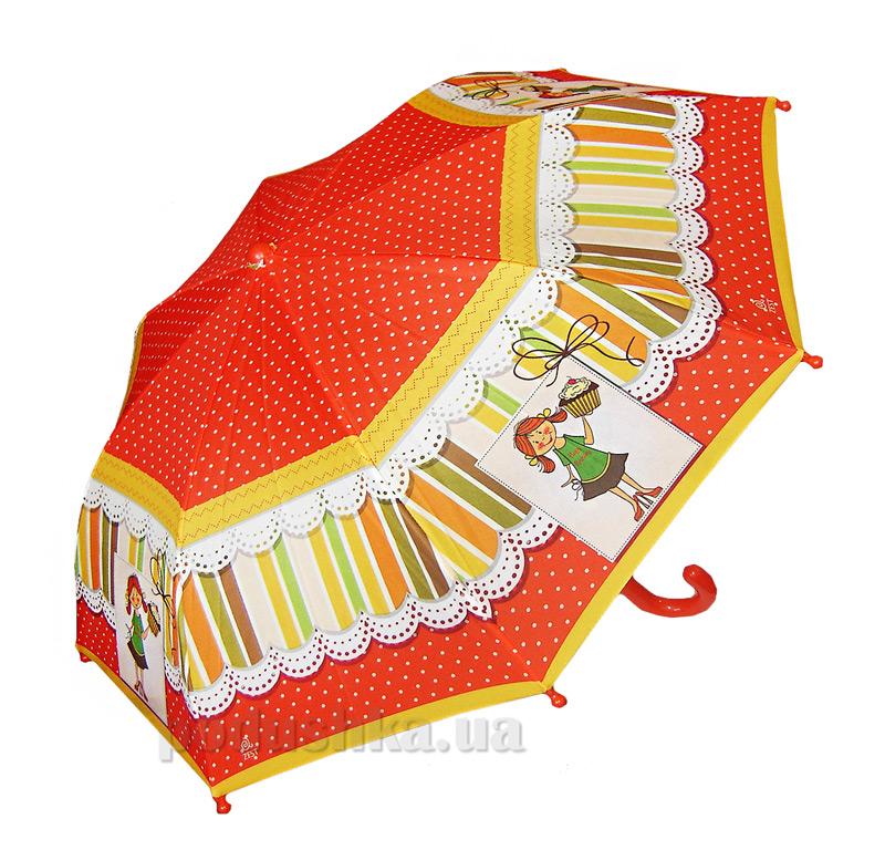 Детский зонтик-трость Горошек Zest 21561-3706