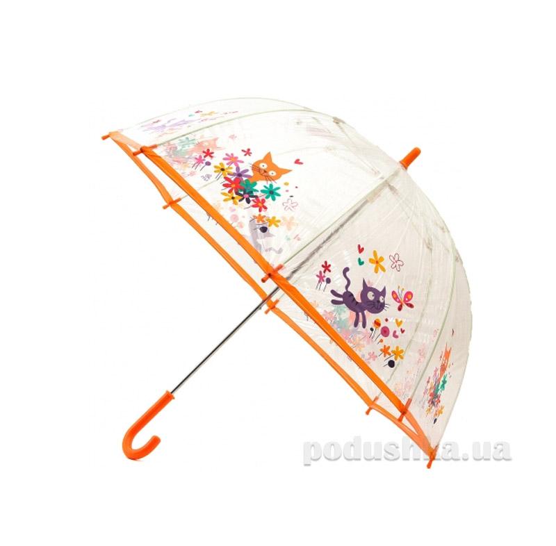 Детский зонтик-трость Котята Zest 51510
