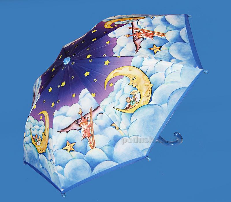 Детский зонтик-трость Облака Zest 21561-3258