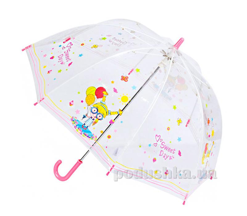 Детский зонтик-трость Прекрасный день Zest 51510-9028