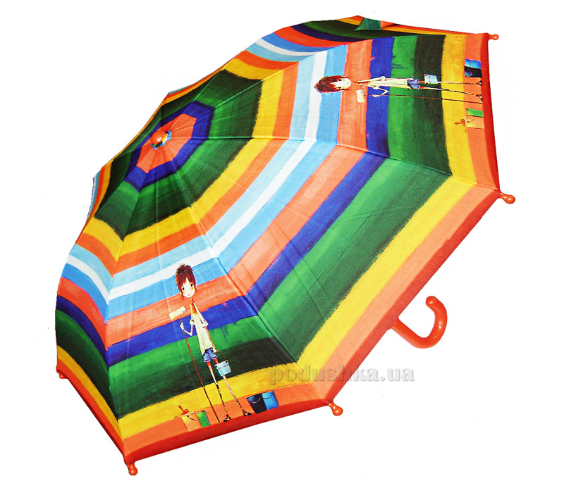 Детский зонтик-трость Радуга Zest 21561-3593