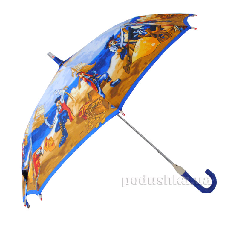 Детский зонтик-трость с фонариком Пираты Zest 21551