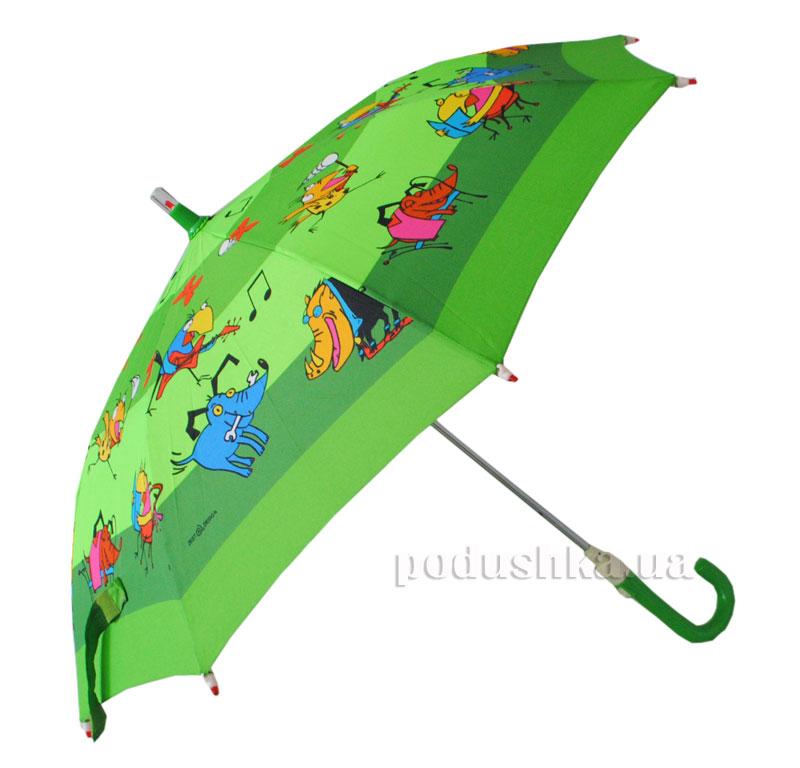 Детский зонтик-трость с фонариком Жучки Zest 21551