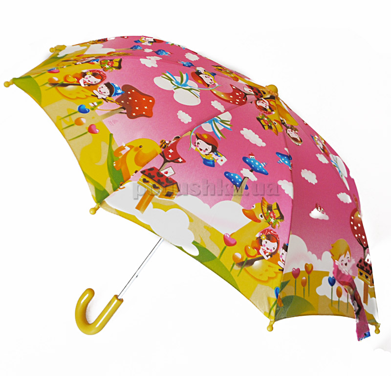 Детский зонтик-трость Сказочное приключение Zest 21561-4036