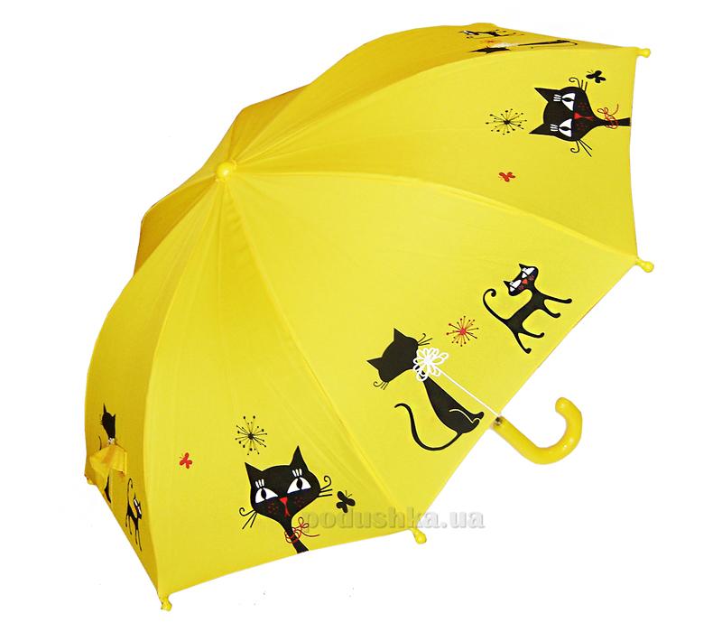 Детский зонтик-трость Умная кошечка Zest 21561-3977