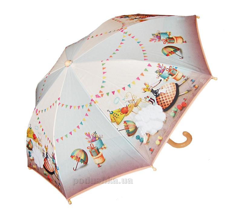 Детский зонтик-трость Веселая мышка Zest 21561-3454