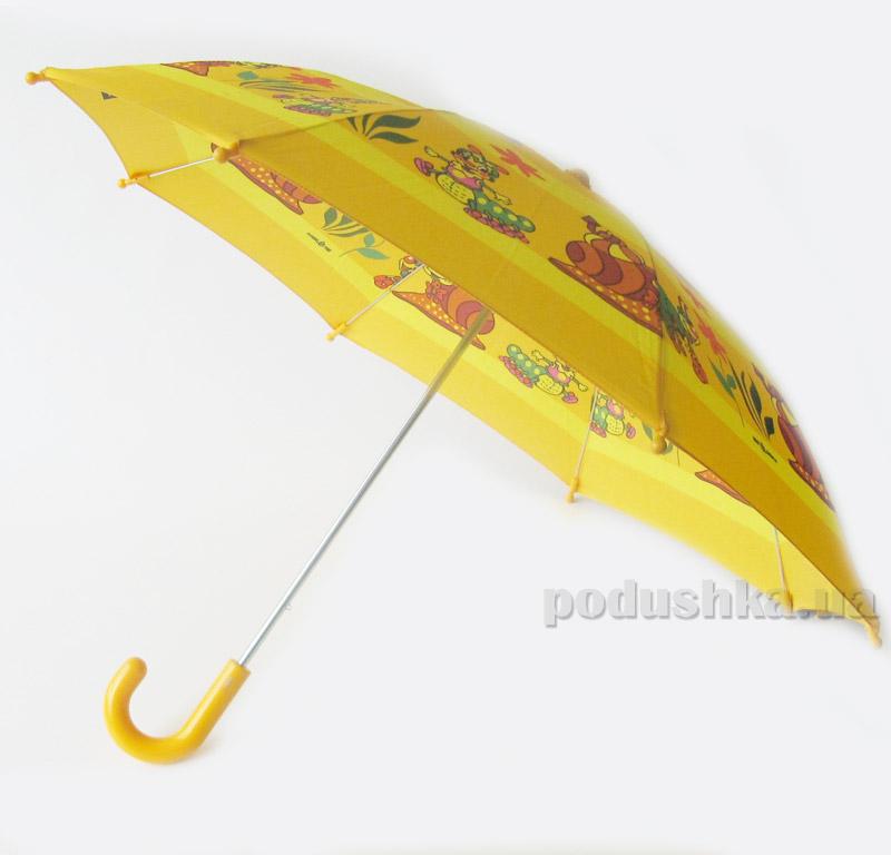 Детский зонтик-трость Веселые улиточки Zest 21561-4038