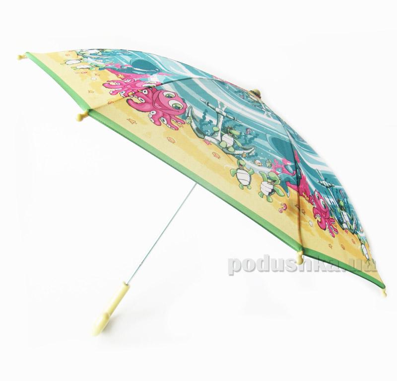 Детский зонтик-трость Морские жители Zest 21561-4039