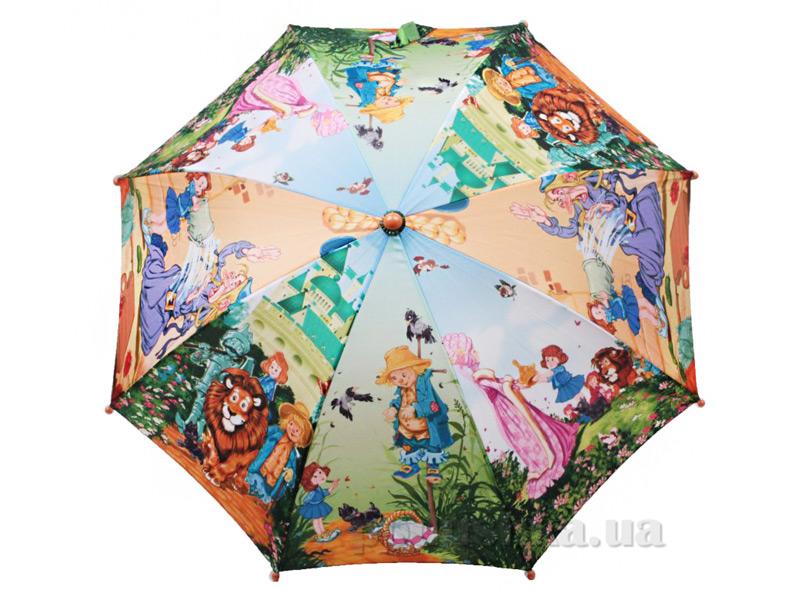 Детский зонтик-трость Волшебник Изумрудного города Zest 21665