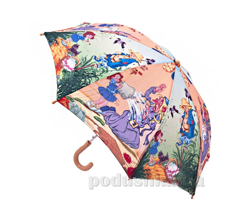 Детский зонтик-трость Волшебник Изумрудного города Zest 21665-919