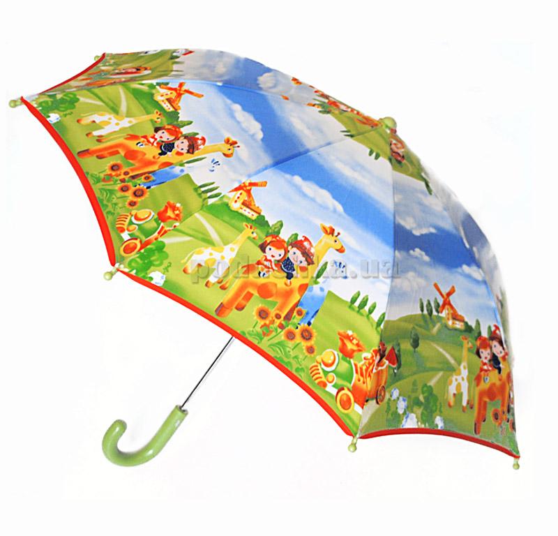 Детский зонтик-трость Яркая прогулка Zest 21561-4032