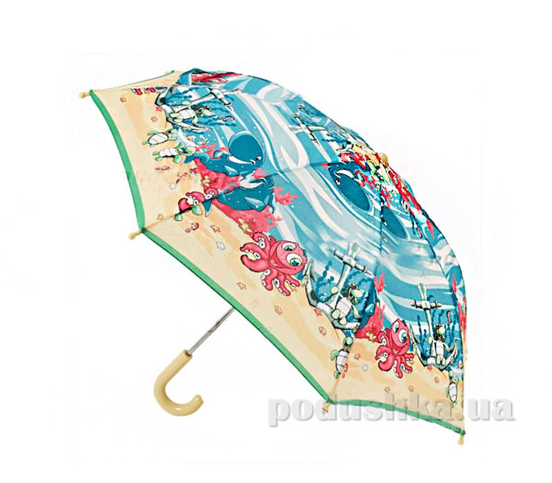 Детский зонтик-трость Морская прогулка Zest 21561-8078