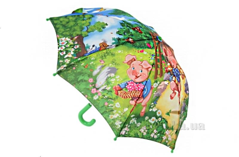 Детский зонтик-трость Три поресенка Zest 21665