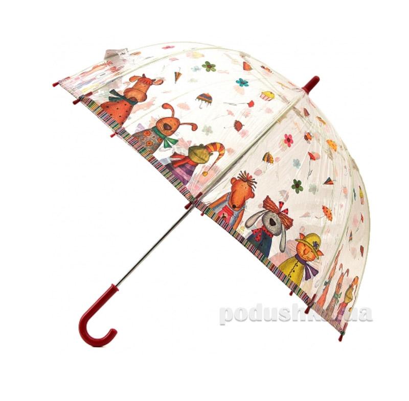 Детский зонтик-трость Животные Zest 51510