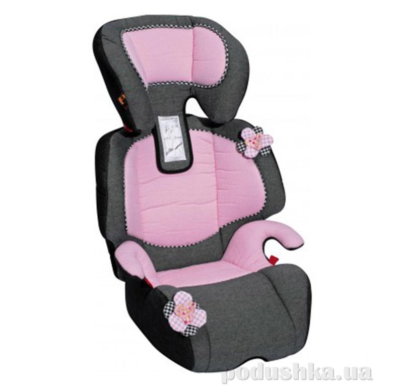 Детское автокресло Bellelli Michelangelo 01MIKI009 черно-розовое