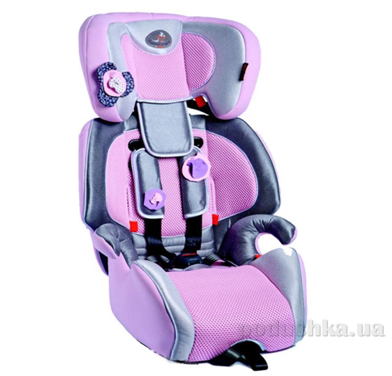 Детское автокресло Gio Plus Fix Bellelli 01GIP043IFBBY розовый цветок