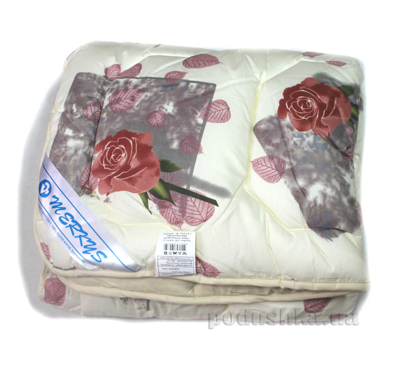 Детское одеяло Merkys стеганое КД41 розы