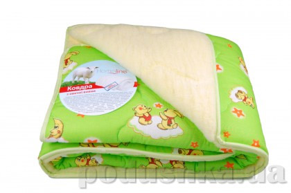 Детское одеяло стёганое меховое Home line с синтепоном