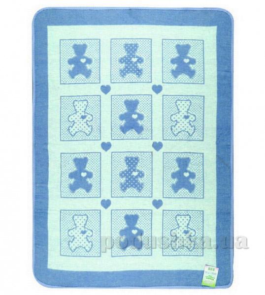 Детское одеяло Влади Барни голубое 100х140 см  Влади