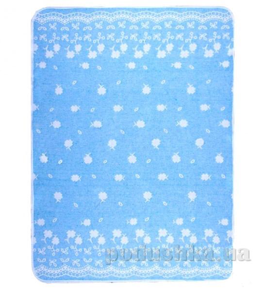 Детское одеяло Влади Барвинок голубое