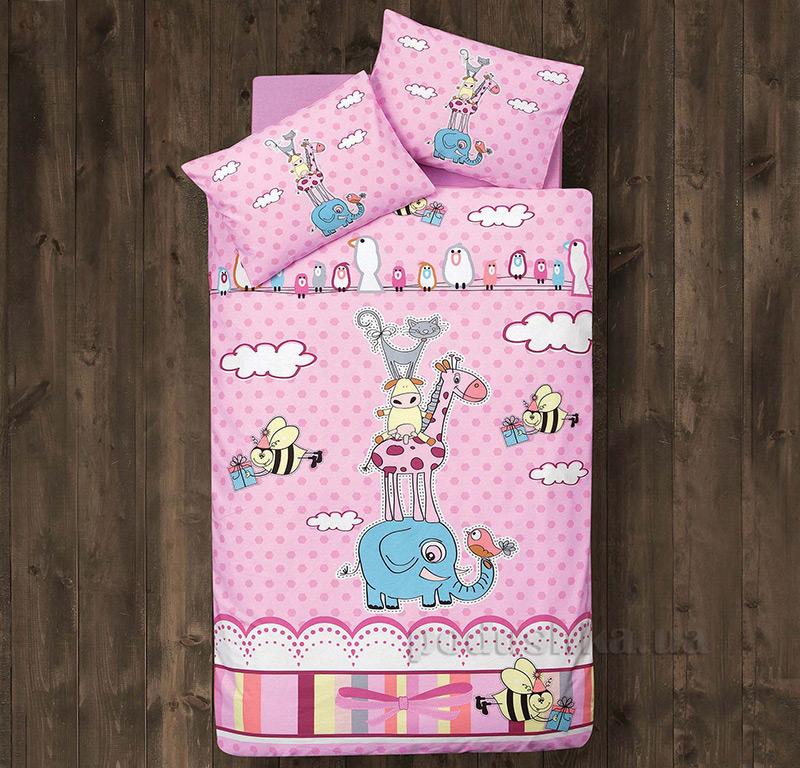 Детское постельное белье Aran CLASY Ranforce Friends 39015