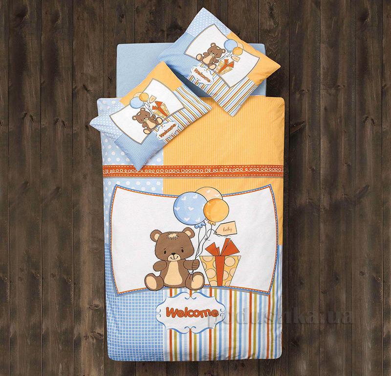 Детское постельное белье Aran CLASY Ranforce Sweet Bear 39046
