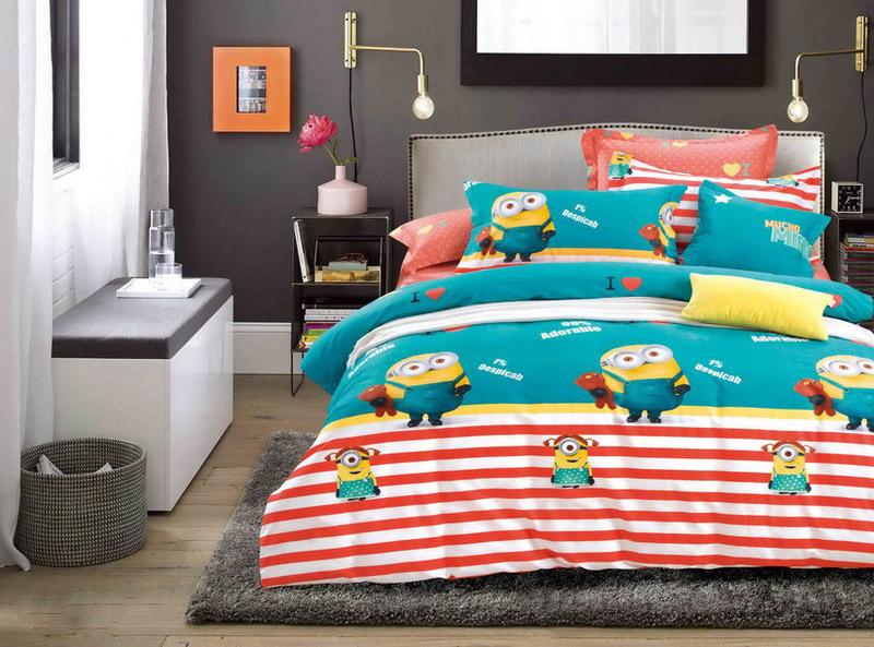 Детское постельное белье Bella Villa Сатин-фотопринт B-0041