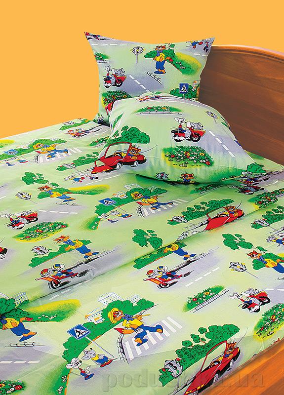 Детское постельное белье бязь набивная Ярослав t26