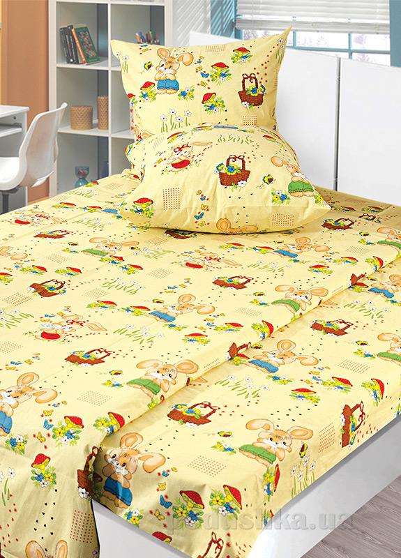 Детское постельное белье бязь набивная Ярослав t67