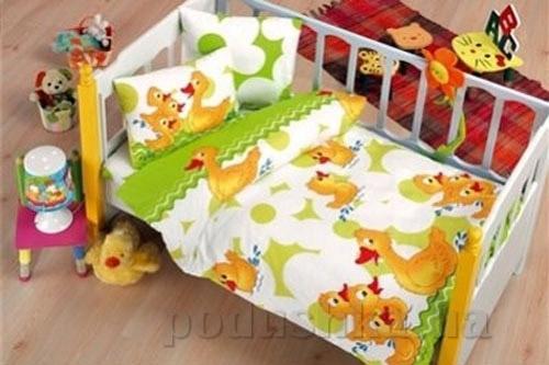 Детское постельное белье Kristal Paytak V02 салатовое