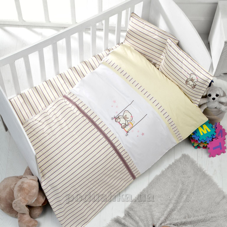 Детское постельное белье Luoca Patisca Bear
