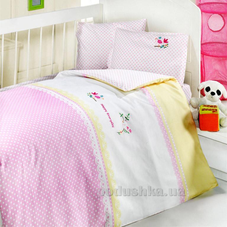 Детское постельное белье Luoca Patisca Birdy