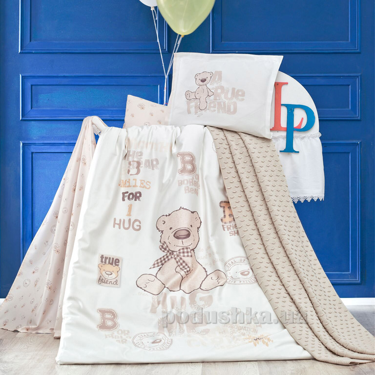 Детское постельное белье с пледом Luoca Patisca Benard