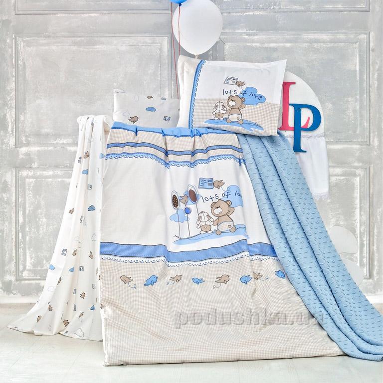 Детское постельное белье с пледом Luoca Patisca Escape