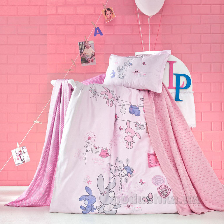 Детское постельное белье с пледом Luoca Patisca Little
