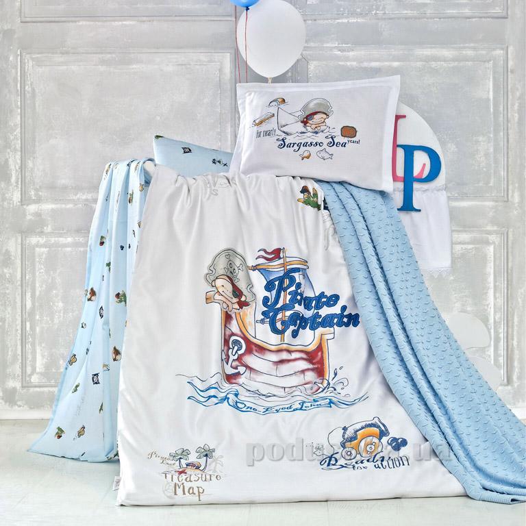 Детское постельное белье с пледом Luoca Patisca Pirate