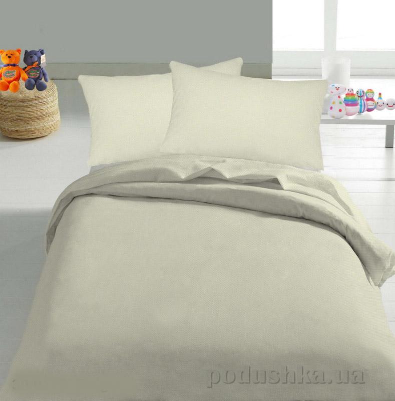 Детское постельное белье TM Nostra Бязь Rainforce бежевый