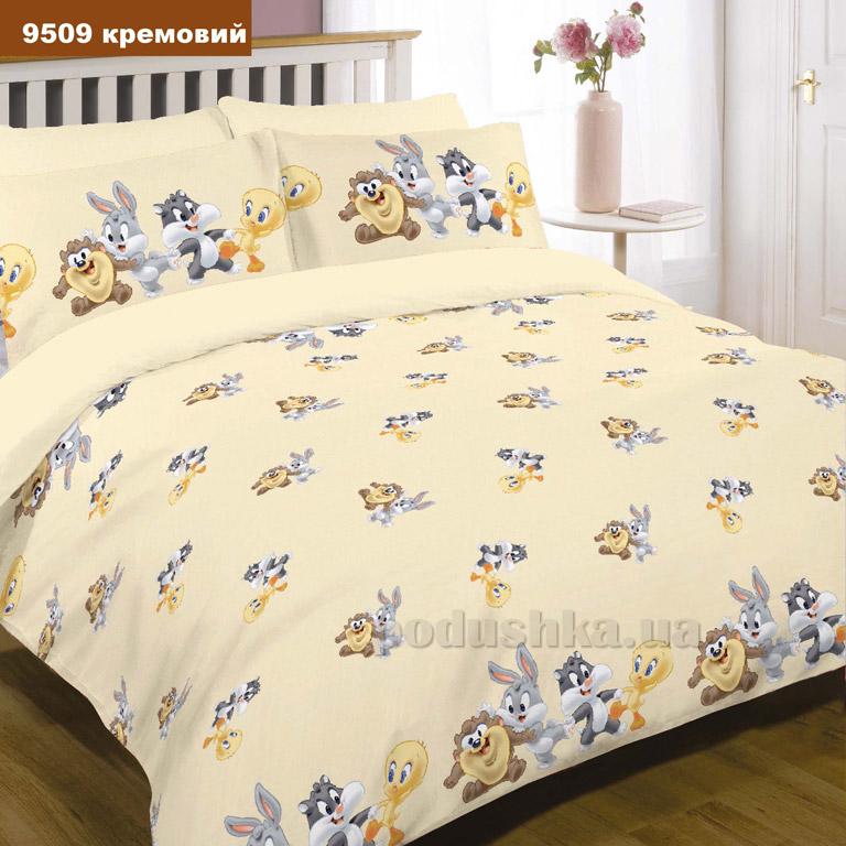 Детское постельное белье Вилюта ранфорс 9509 кремовое