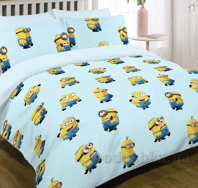 Детское постельное белье Вилюта ранфорс 9861 blue