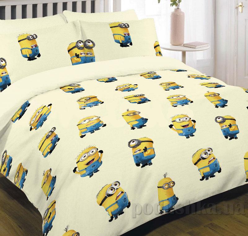 Детское постельное белье Вилюта ранфорс 9861 желтый