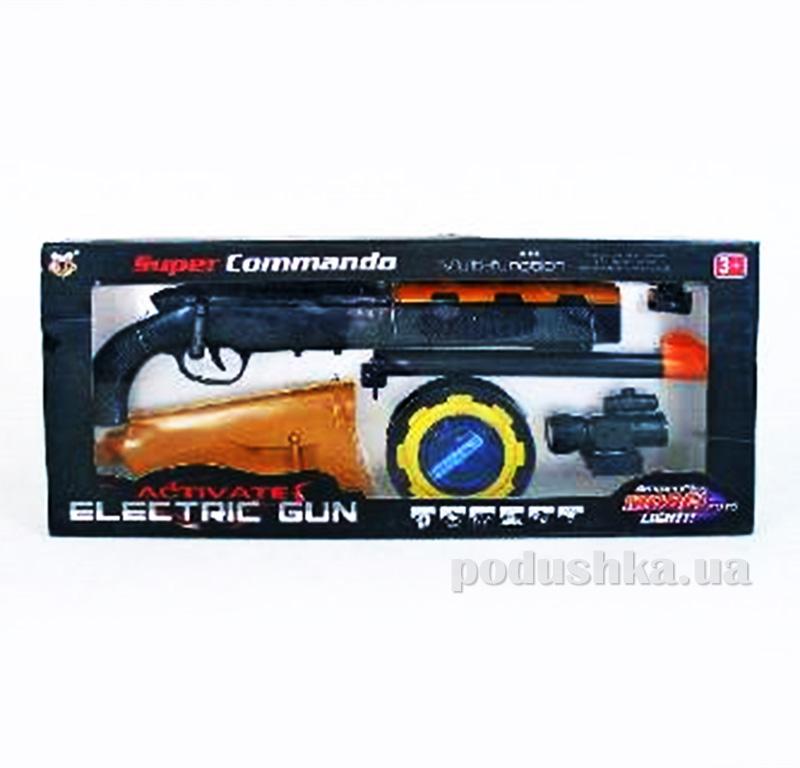 Детское ружье со звуком и светом Super Gun 384766WGB