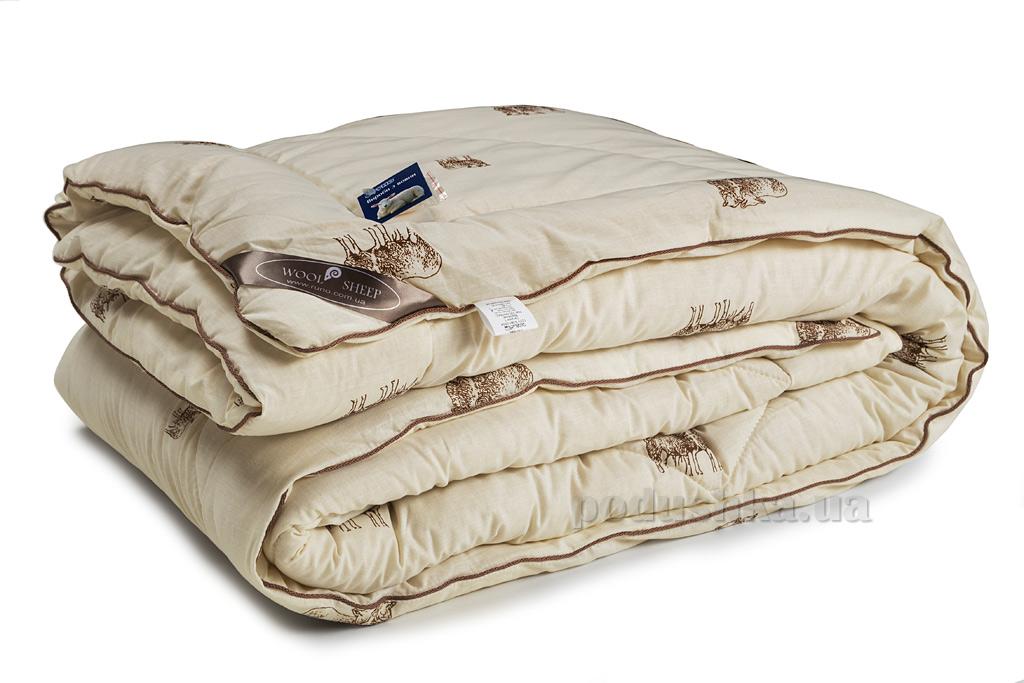 Детское зимнее шерстяное одеяло Руно Sheep