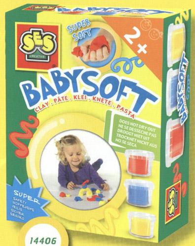 Набор для занятий лепкой - Для малышей, 3 цвета