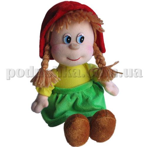 Мягкая игрушка - Красная Шапочка музыкальная, 22 см