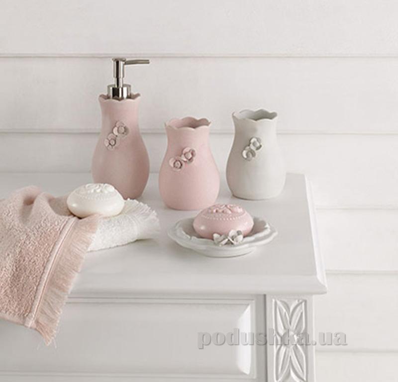 Диспенсер для жидкого мыла Ladinne Mina Blush Pudra 900157