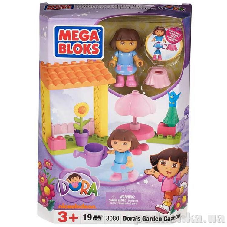 Дора Набор В саду 3080 Mega Bloks
