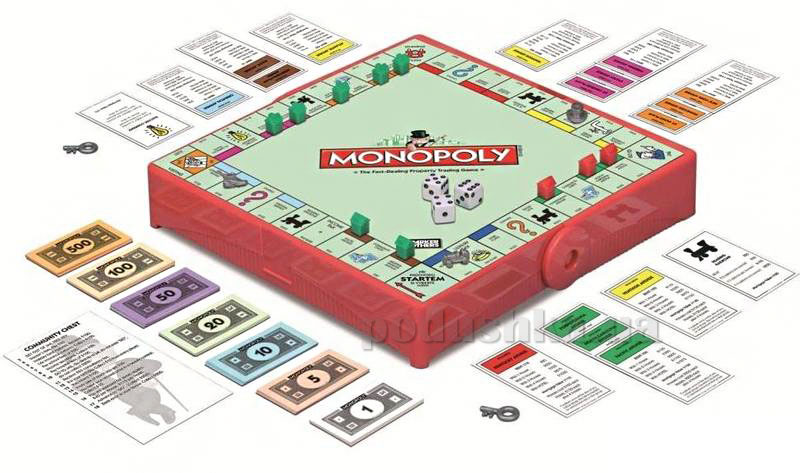 Дорожная игра Монополия на украинском языке Hasbro 29188