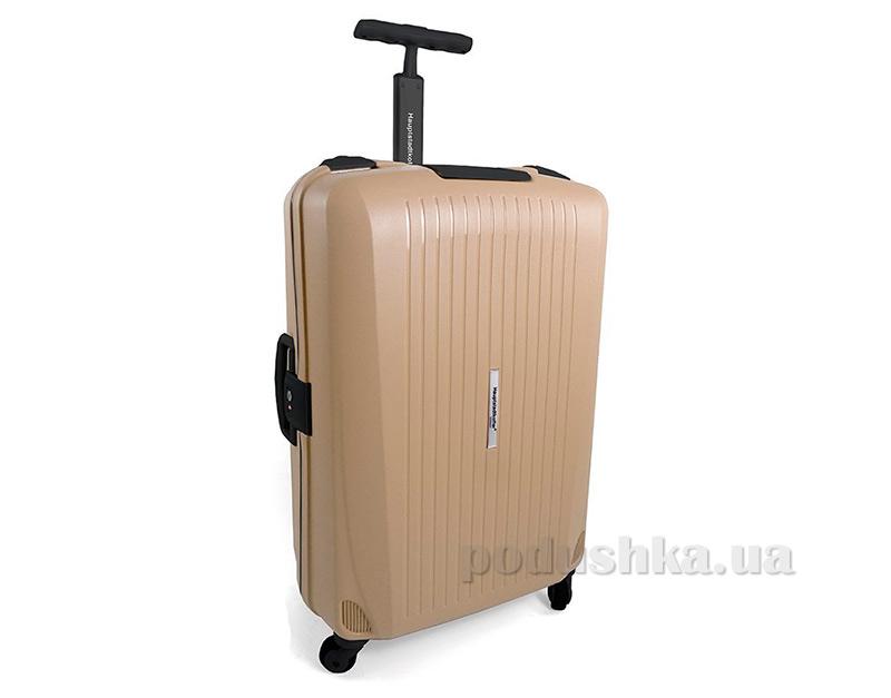 Дорожный чемодан Hauptstadtkoffer QDamm бежевый