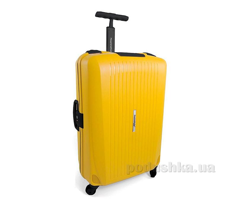 Дорожный чемодан Hauptstadtkoffer QDamm желтый